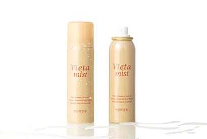 메마른 피부를 위한 효과적인 수분 공급, 비에타 미스트